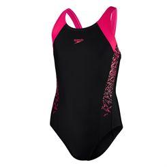 Speedo Boom Splice Muscleback Girls Swimsuit