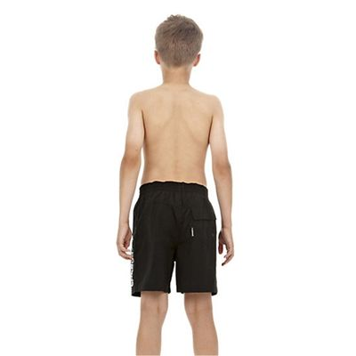Speedo Challenge 15 Inch Boys Watershort - Black - Back View