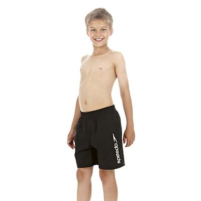 Speedo Challenge 15 Inch Boys Watershort - Black