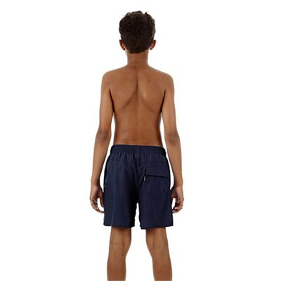 Speedo Challenge 15 Inch Boys Watershort - Navy - Back View