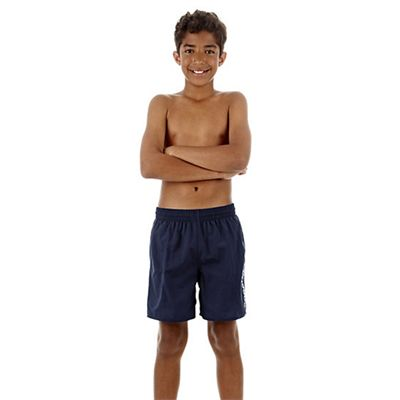Speedo Challenge 15 Inch Boys Watershort - Navy