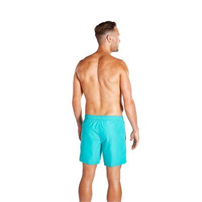 Speedo Check Trim Leisure 16 inch Mens Watershort - Jade - Back
