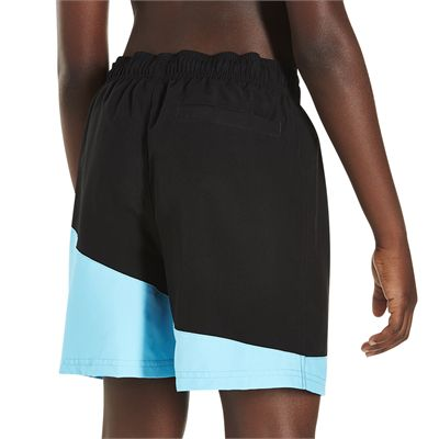 Speedo Colour Block 15 Inch Boys Watershorts - Back