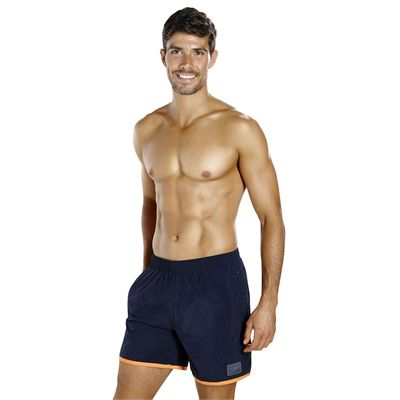 Speedo Colour Block 16 Inch Mens Watershorts - Navy - Angled