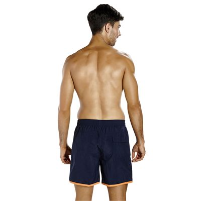 Speedo Colour Block 16 Inch Mens Watershorts - Navy - Back