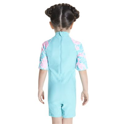Speedo Cosmic Cloud Essential All in One Infant Girls Swimsuit - Back
