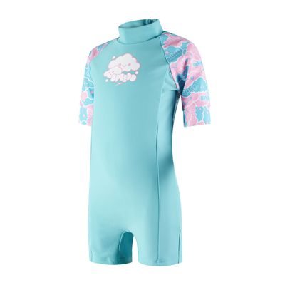 Speedo Cosmic Cloud Essential All in One Infant Girls Swimsuit