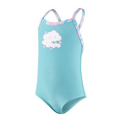 Speedo Cosmic Cloud Essential Thinstrap Infant Girls Swimsuit