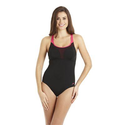 Speedo Crystalflow 1 Piece Ladies Swimsuit