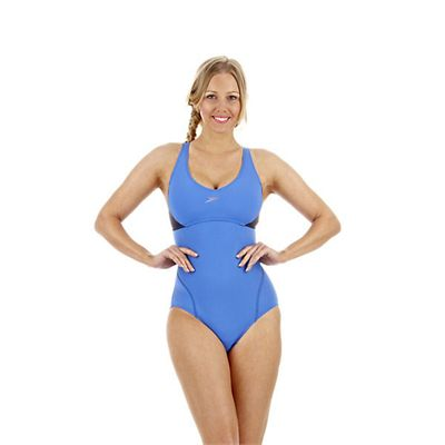 Speedo Cystalflow Adjustable 1 Piece Ladies Swimsuit