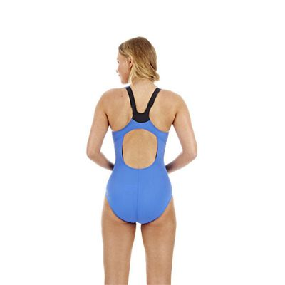Speedo Cystalflow Adjustable 1 Piece Ladies Swimsuit Back