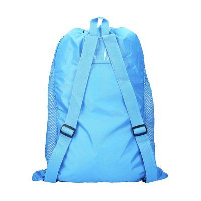 Speedo Deluxe Ventilator Mesh Pool Bag - Blue - Back