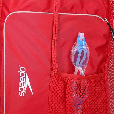 Speedo Deluxe Ventilator Mesh Pool Bag - Zoomed