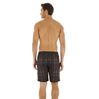 Speedo Downstream Printed Check 18Inch Watershort - Back