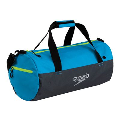 Speedo Duffle Bag-Blue-Grey