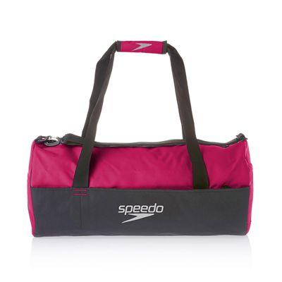 Speedo Duffle Bag-Pink-Grey-Image1