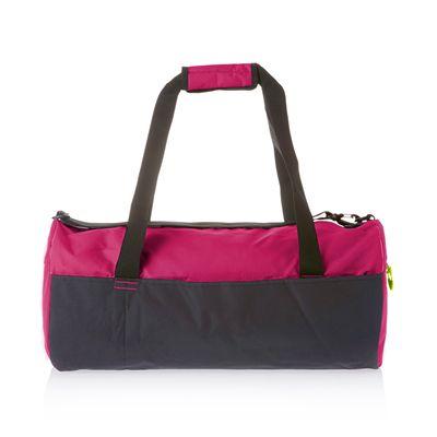 Speedo Duffle Bag-Pink-Grey-Image2