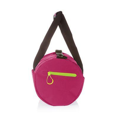 Speedo Duffle Bag-Pink-Grey-Image3