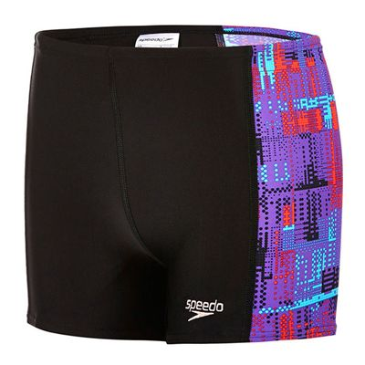 Speedo Endurance 10 Allover Panel Boys Aquashorts