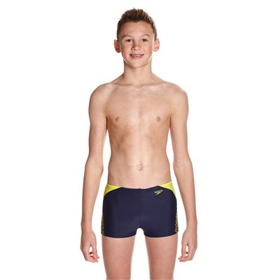 Speedo Endurance 10 Boom Splice Boys Aquashorts - Front