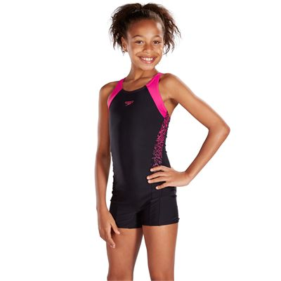 Speedo Endurance 10 Boom Splice Girls LegsuitSpeedo Endurance 10 Boom Splice Girls Legsuit - Angle