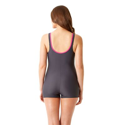 Speedo Endurance 10 Crystalrain Ladies Legsuit Back View