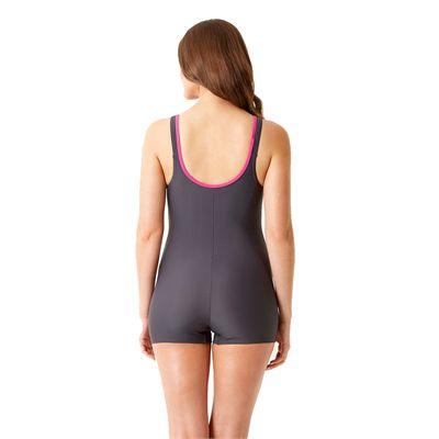 Speedo Endurance 10 Crystalrain Ladies Legsuit Back View