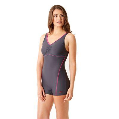 Speedo Endurance 10 Crystalrain Ladies Legsuit Side View