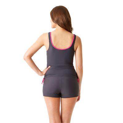 Speedo Endurance 10 Essential Crystalrain Ladies Tankini - Back View