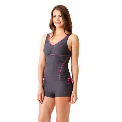 Speedo Endurance 10 Essential Crystalrain Ladies Tankini - Side View