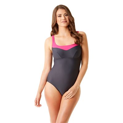 Speedo Endurance 10 Essential Jetspa Ladies Swimsuit - Front View