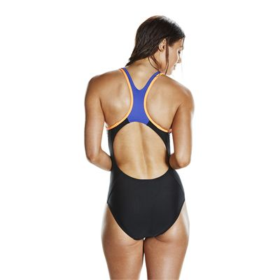 Speedo Endurance 10 Fit Laneback Ladies Swimsuit - Back