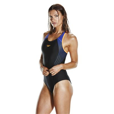 Speedo Endurance 10 Fit Laneback Ladies Swimsuit SS18