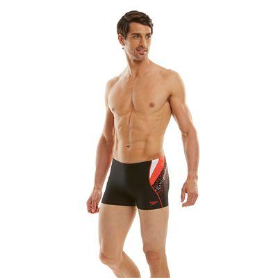 Speedo Endurance 10 Logo Curve Mens Aquashorts - Side View