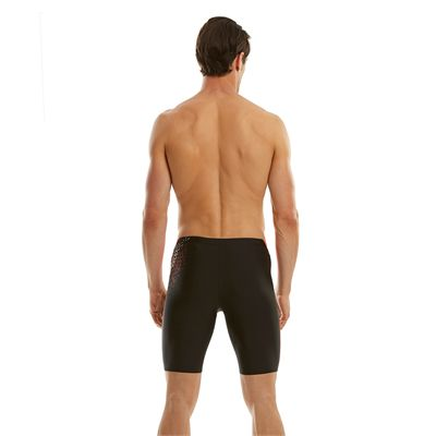 Speedo Endurance 10 Logo Curve Mens Jammer - Back View