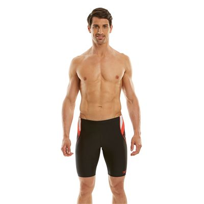 Speedo Endurance 10 Logo Curve Mens Jammer - Front View