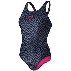 Speedo Endurance 10 Monogram Allover Muscleback Ladies Swimsuit