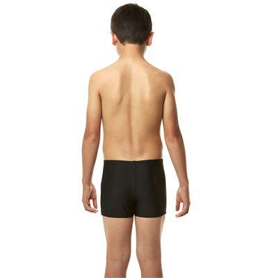 Speedo Endurance 10 Monogram Boys Aquashorts SS14 - Black/Skip - Back