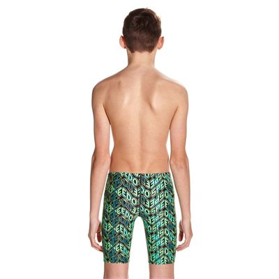 Speedo Endurance 10 Pop Science Allover Boys Swimming Jammers - Back
