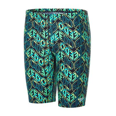 Speedo Endurance 10 Pop Science Allover Boys Swimming Jammers