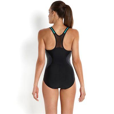 Speedo Endurance 10 Speedo Fit Racerback Ladies Swimsuit-Back