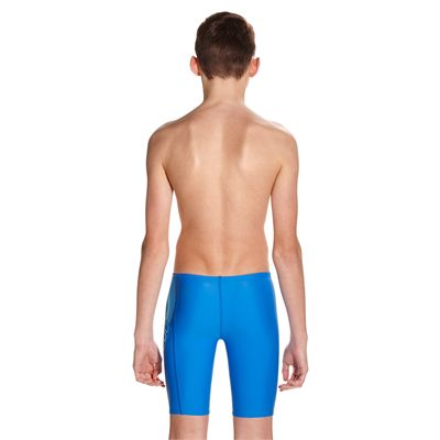 Speedo Endurance 10 Sports Logo Panel Boys Swimming Jammers - Back