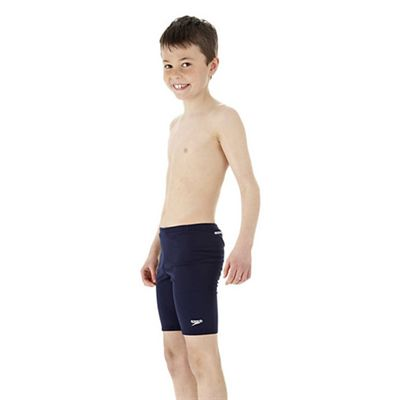 Speedo Endurance Boys Jammer Swimming Shorts - Navy