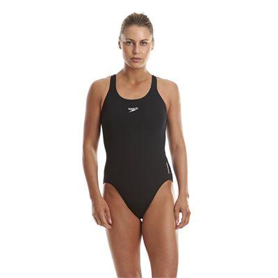 Speedo Endurance Medalist Ladies Swim Suit - Black