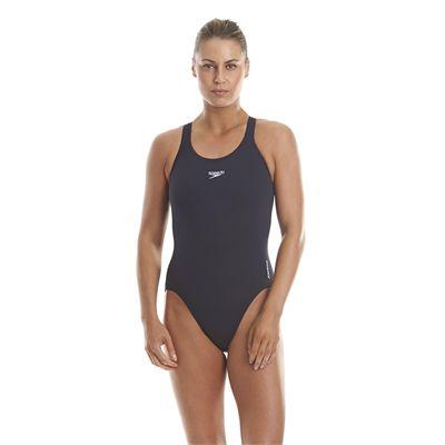 Speedo Endurance Medalist Ladies Swim Suit - Navy