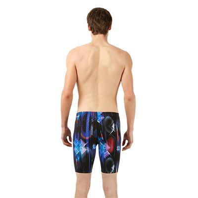 Speedo Endurance Plus Allover Digital Mens Jammer - Back Image
