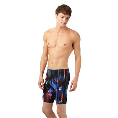 Speedo Endurance Plus Allover Digital Mens Jammer - Side Image