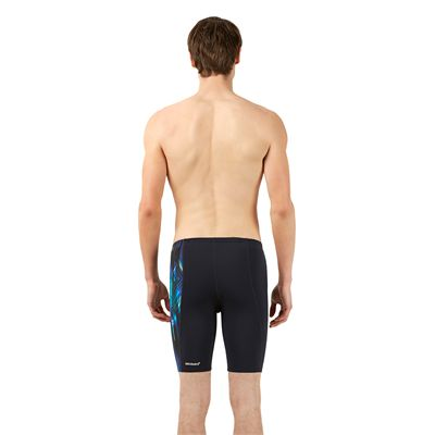 Speedo Endurance Plus Allover Digital Panel Mens Jammer - Back View