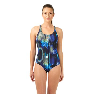 Speedo Endurance Plus Allover Digital Powerback Ladies - Front View