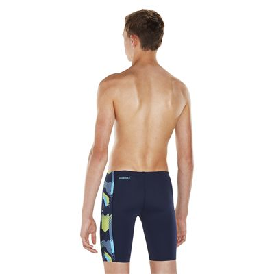 Speedo Endurance Plus Alphablast Allover Panel Boys Jammers - Back